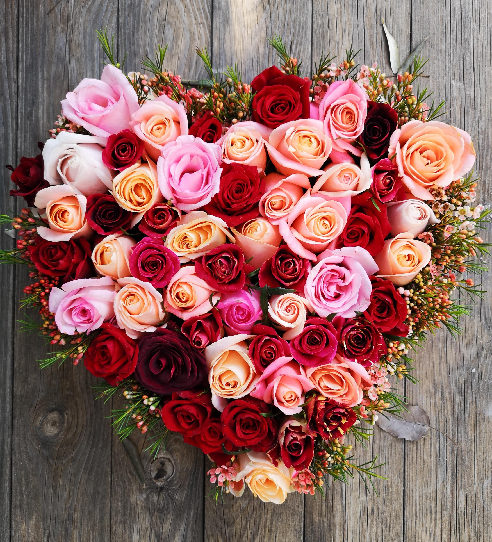 לב ורדים